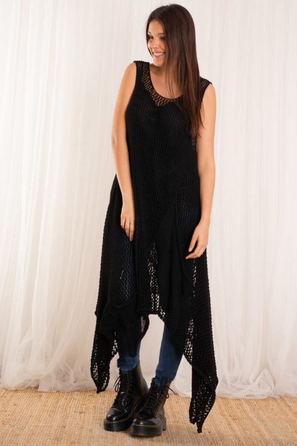 Jersey poncho sema negro - Nunu Santander