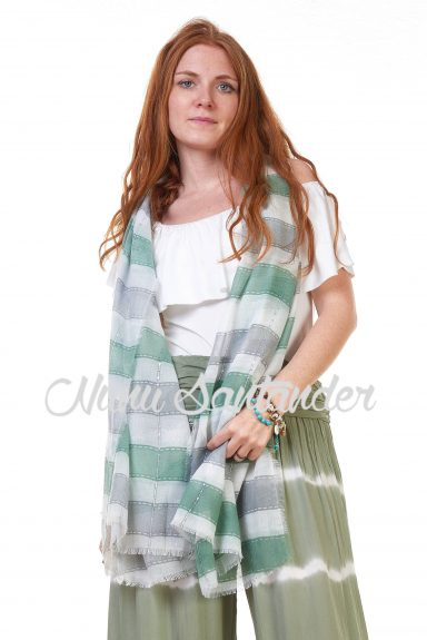 foulard rayas