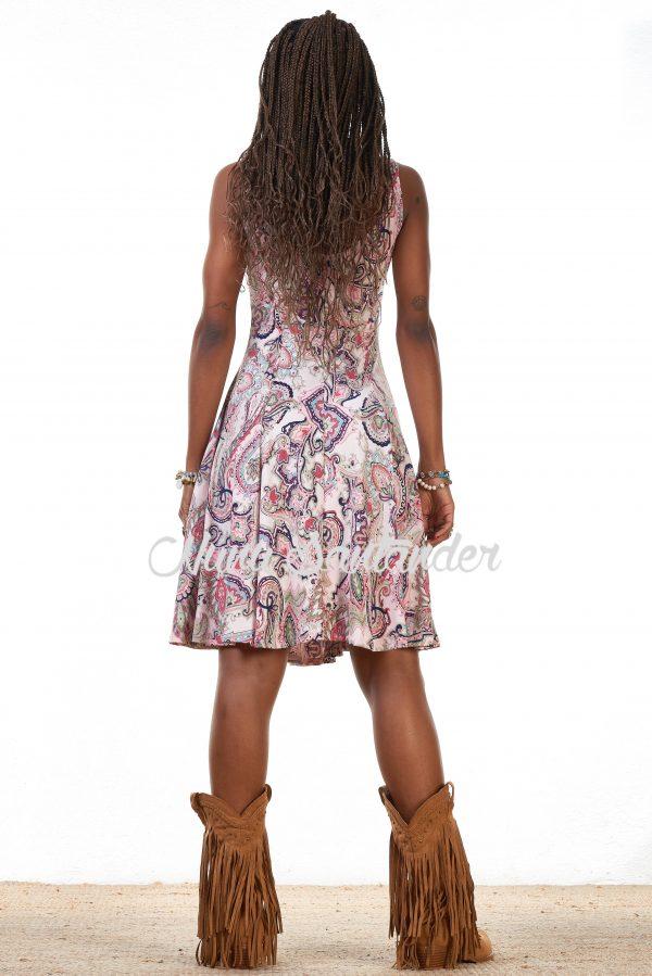 vestido estampado figruas