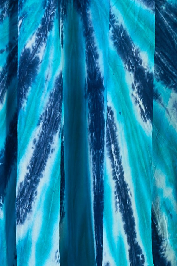 vestido tie dye azul