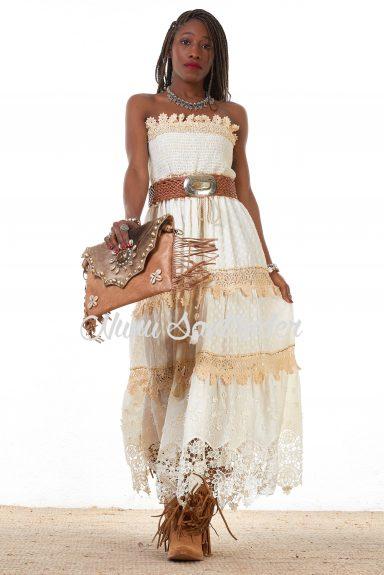 vestido plumeti blanco