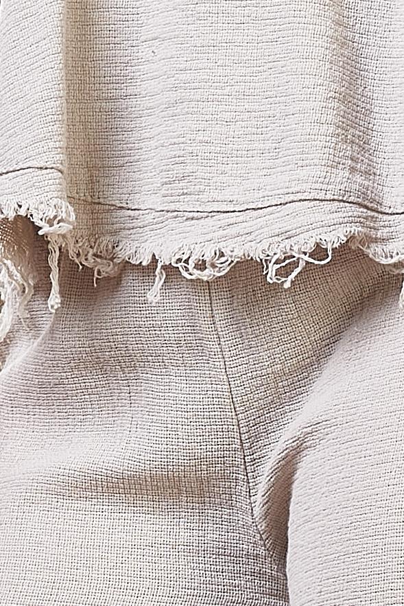 Conjunto vaporoso de algodón
