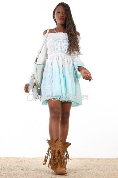 vestido degradado