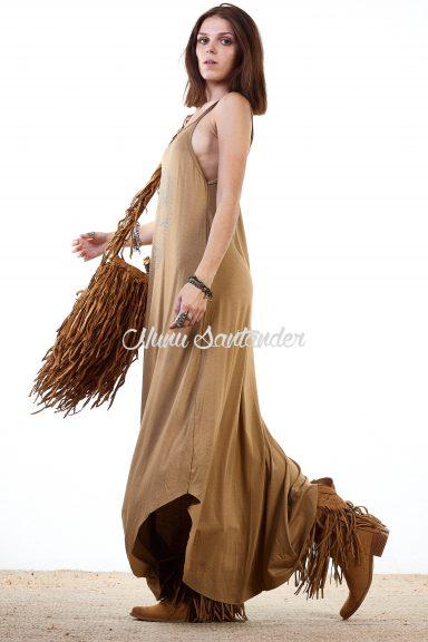 vestido largo calavera