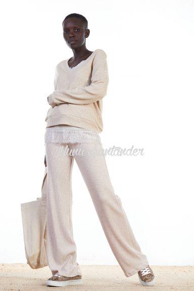 pantalón de punto