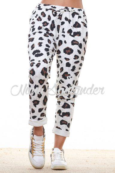 pantalon estampado animal
