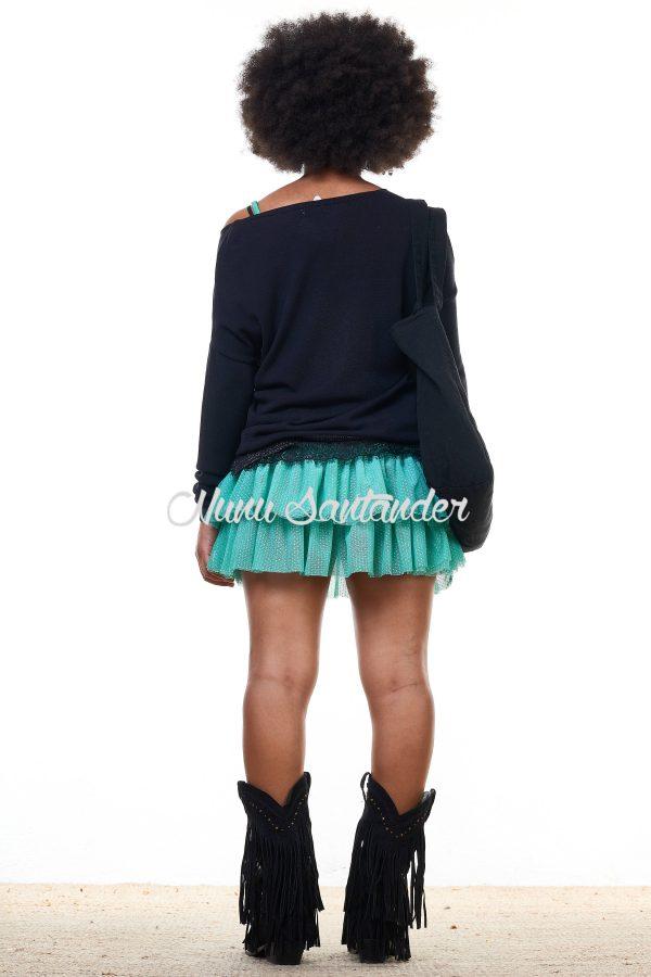 jersey de modal con estampado
