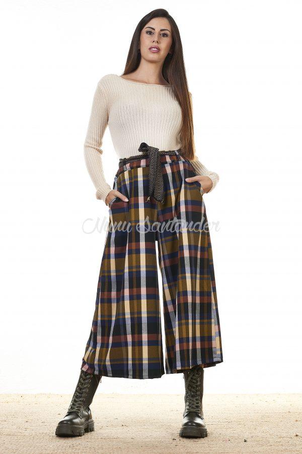 pantalon tartan