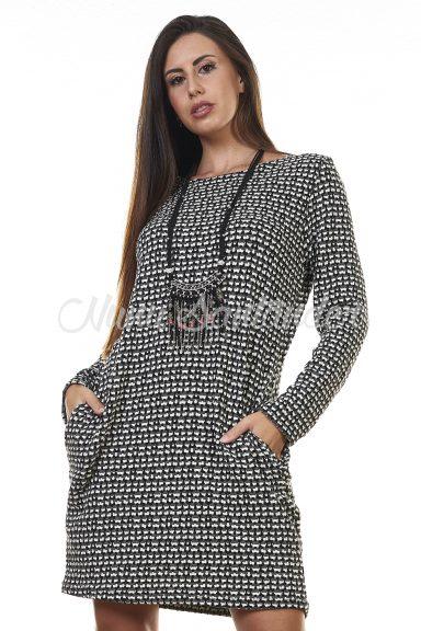 vestido corto manga larga