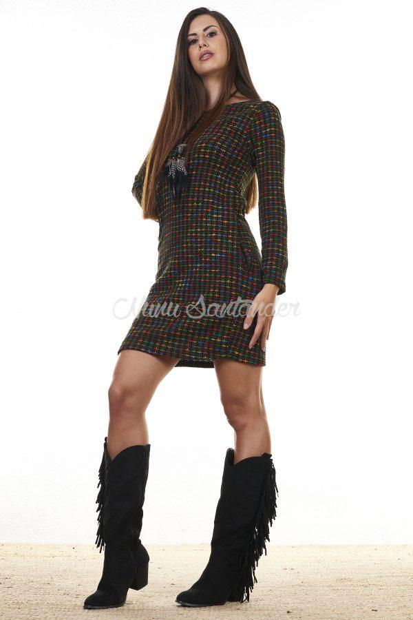 vestido corto manga larga vestido corto manga larga